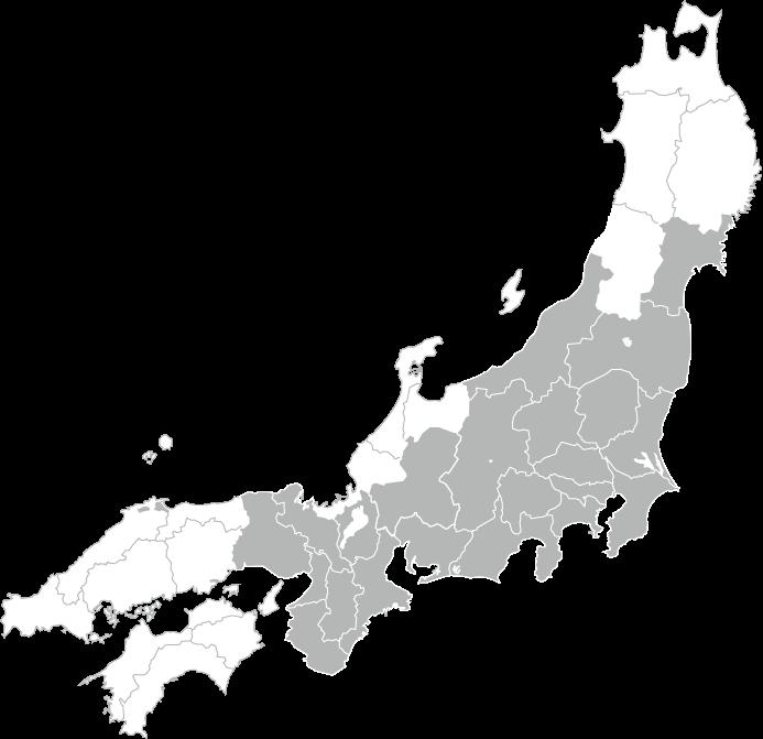 日本エコジニアの対応エリア