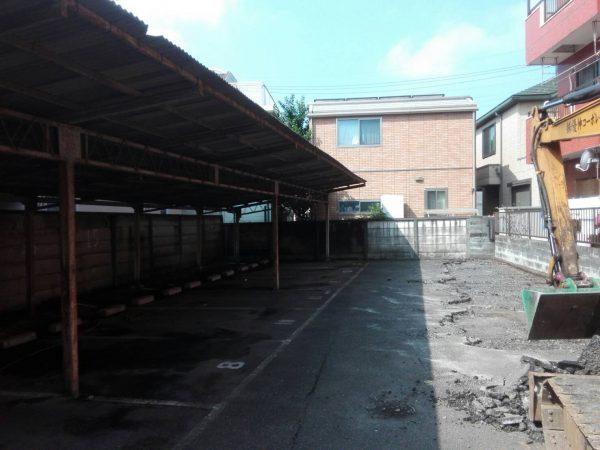 立川市高松町の解体工事を行いました。