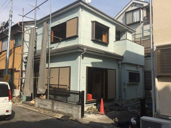 江戸川区西瑞江の解体工事を行いました。