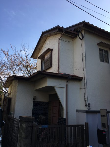 ふじみ野市鶴ケ舞の解体工事を行いました。