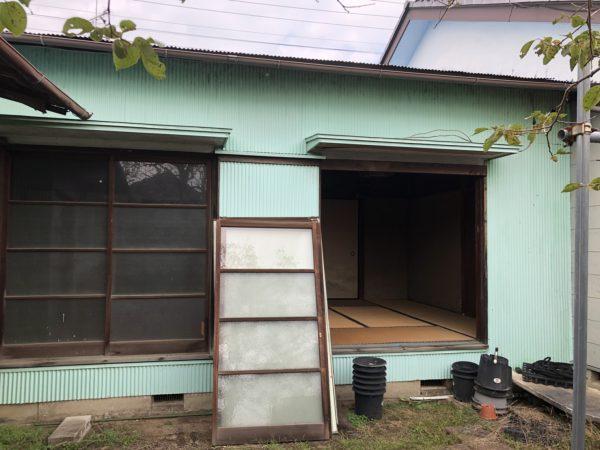 猿島郡五霞町の解体工事を行いました。
