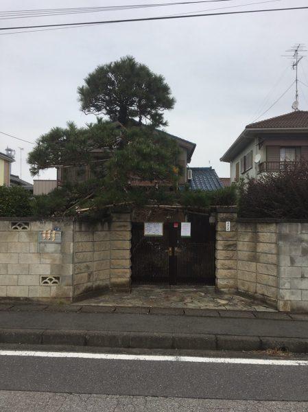 蓮田市関山 解体工事を行いました。