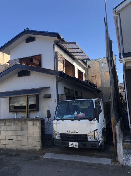 鶴ヶ島市下新田 解体工事を行いました。