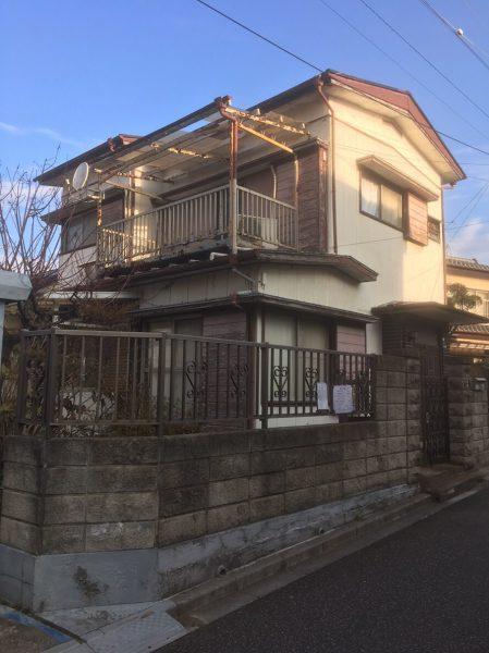 船橋市田喜野井 解体工事を行いました。