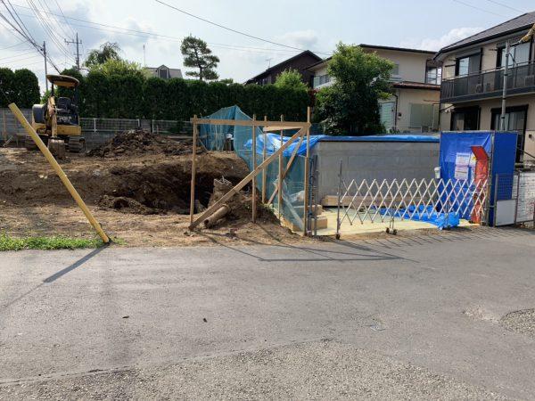 調布市深大寺元町の解体工事を行いました。