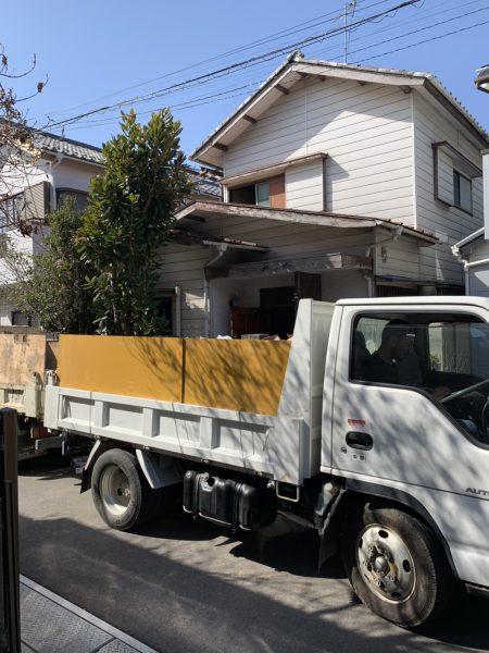 市川市若宮の解体工事を行いました。