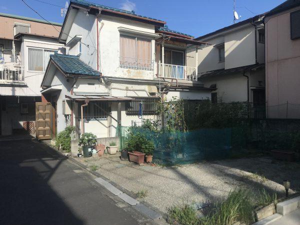 葛飾区細田 外構間仕切りブロック撤去工事を行いました。