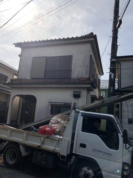 さいたま市西区内野本郷の解体工事を行いました。