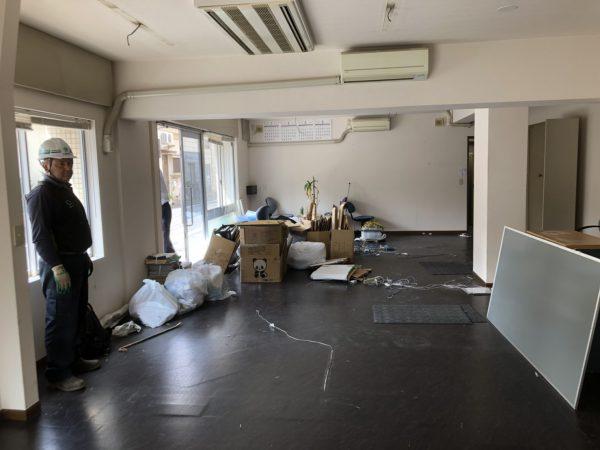 江東区亀戸の内装解体工事を行いました。