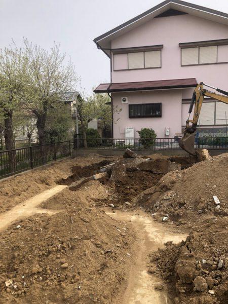 印旛郡栄町安食台の解体工事を行いました。