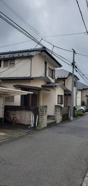 小金井市中町の解体工事を行いました。