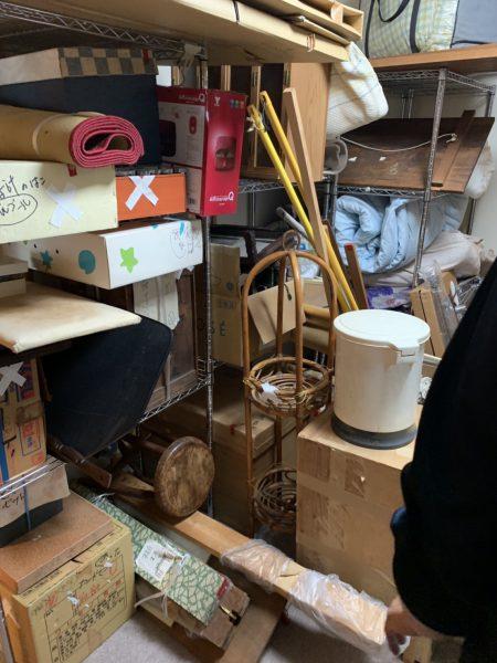 板橋区東山町の残置物撤去工事を行いました。