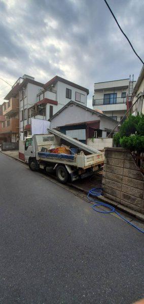 江東区亀戸の解体工事を行いました。