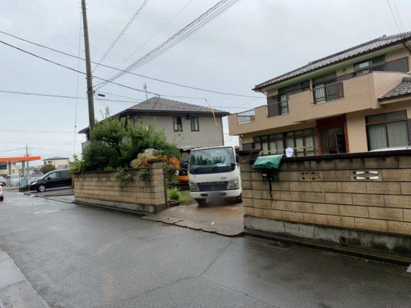 狭山市入間川のブロック撤去工事を行いました。