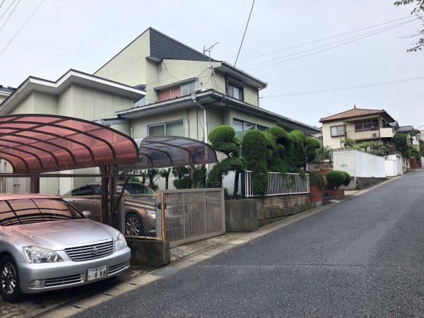 千葉県若葉区みつわ台 解体工事を行いました。