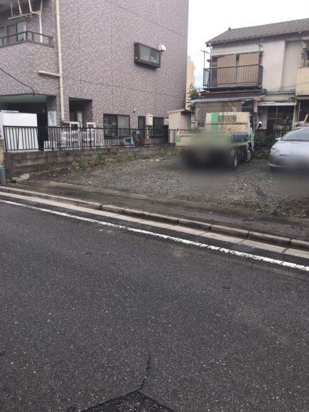 戸田市上戸田のフェンス撤去工事を行いました。