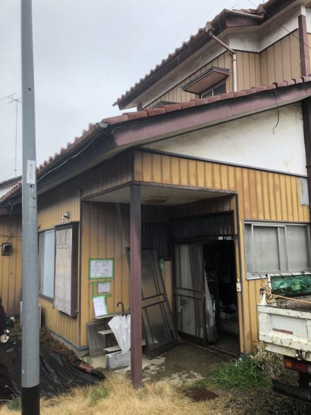 佐野市富岡の解体工事を行いました。