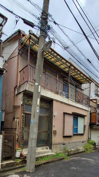 市川市大和田町 解体工事を行いました。