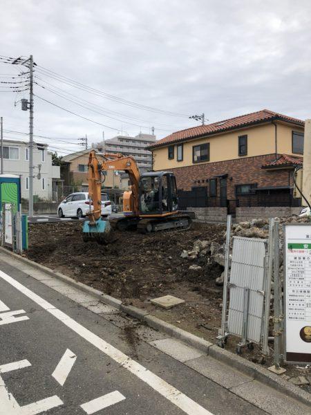 さいたま市緑区東浦和 地中解体工事を行いました。