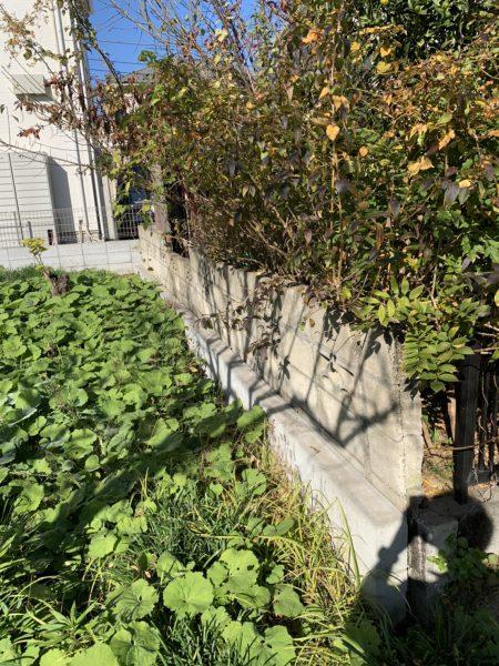 稲城市矢野口 コンクリートブロック撤去工事を行いました。