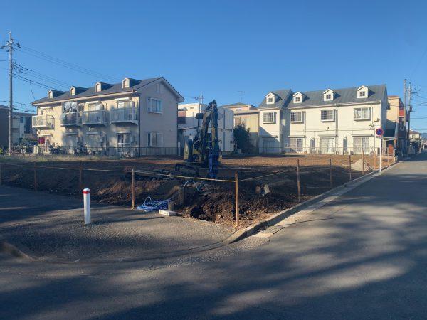 鶴ヶ島市脚折町 地中埋設物撤去工事を行いました。