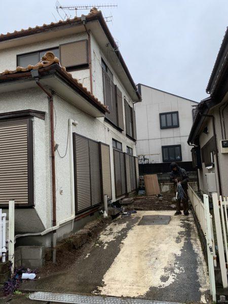 岩槻区原町 付帯物撤去工事を行いました。