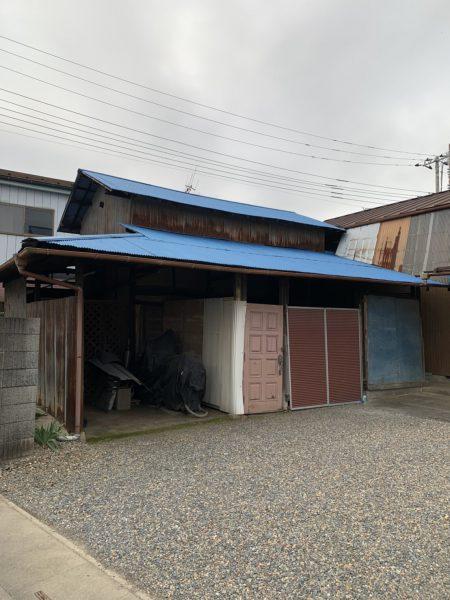 川越市古谷本郷 古屋解体工事を行いました。