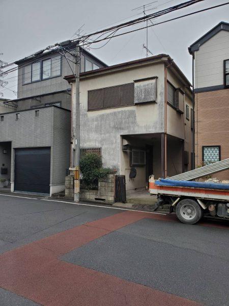 戸田市笹目 解体工事を行いました。