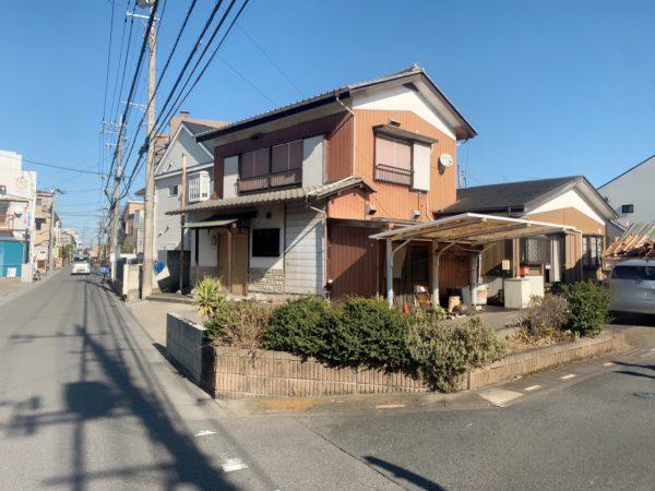 草加市苗塚町 解体工事を行いました。