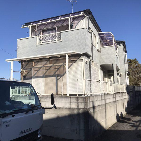 吉川市吉川 解体工事を行いました。