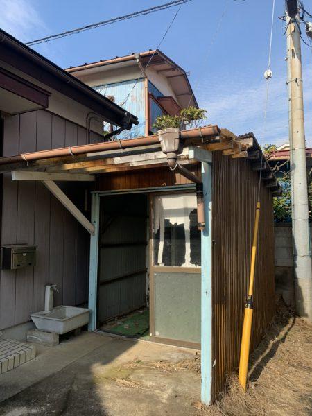 さいたま市岩槻区本町 小屋撤去工事を行いました。