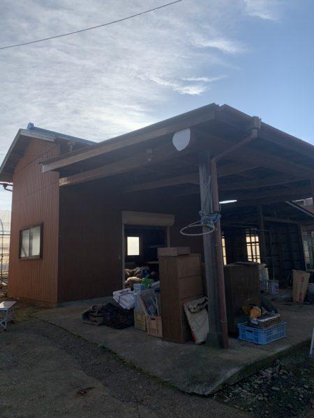 船橋市旭町 納屋解体工事を行いました。