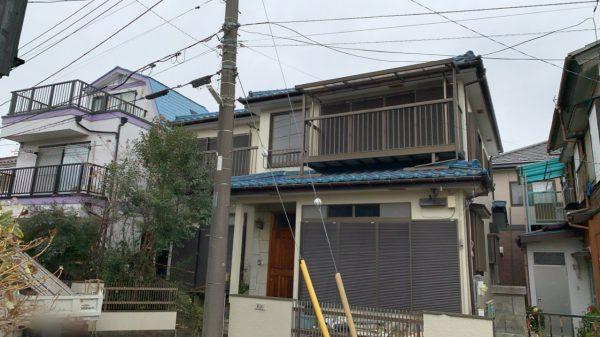 所沢市青葉台 解体工事を行いました。
