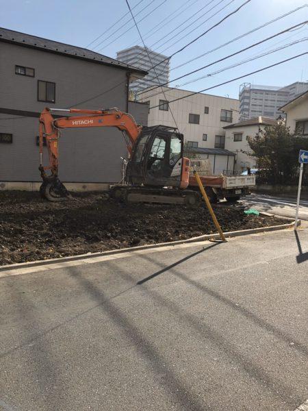 江東区南砂 地中解体工事を行いました。