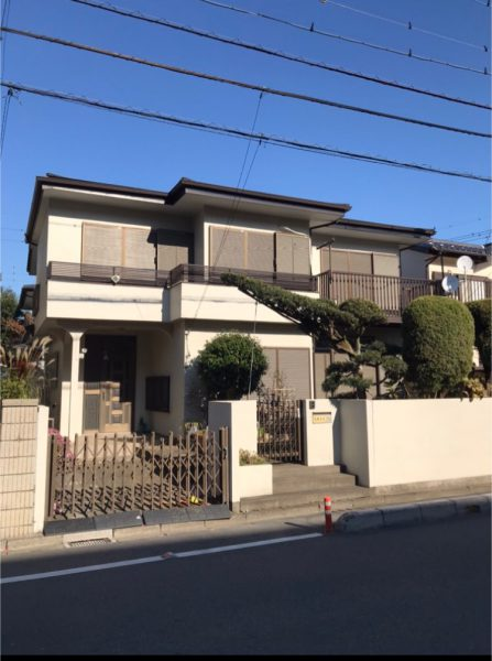 上尾市今泉 解体工事を行いました。
