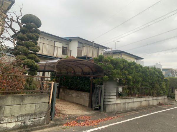 坂戸市鶴舞 解体工事を行いました。