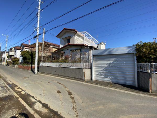横浜市都筑区東山田町 解体工事を行いました。
