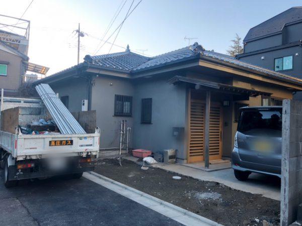 江戸川区東篠崎 解体工事を行いました。