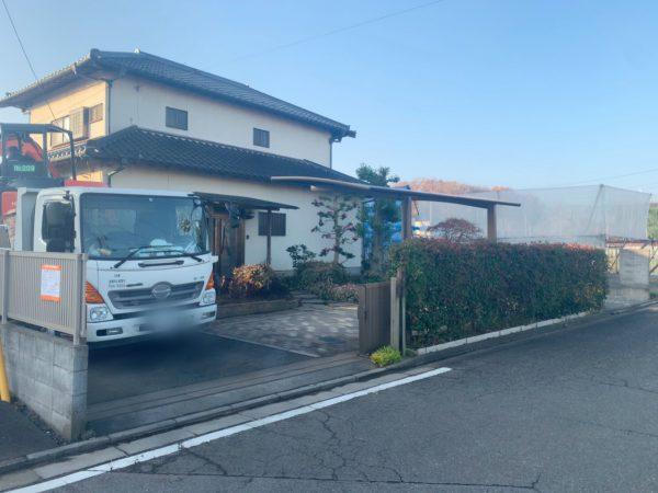 上尾市小敷谷 解体工事を行いました。