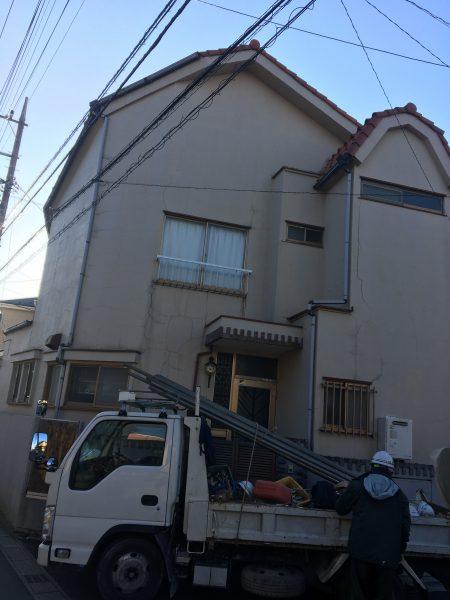 船橋市上山町 解体工事を行いました。