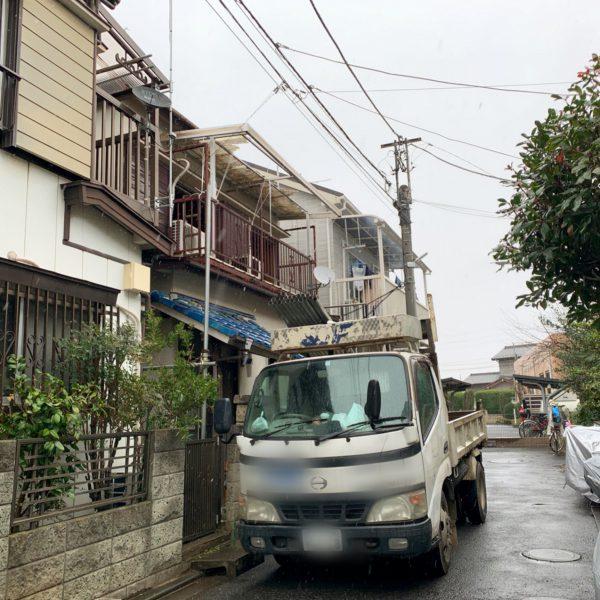 足立区古千谷本町 解体工事を行いました。