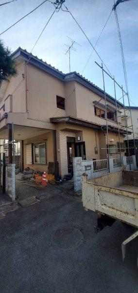 さいたま市見沼区堀崎町 解体工事を行いました。