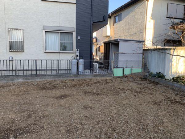 上尾市上平中央 2面ブロック撤去工事を行いました。