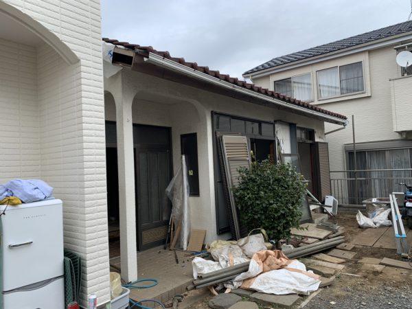さいたま市西区内野本郷 解体工事を行いました。