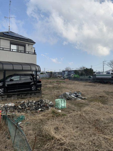 府中市矢崎町 不用品撤去工事を行いました。
