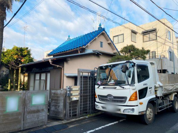 江戸川区南小岩 解体工事を行いました。