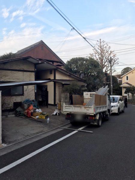世田谷区成城 解体工事を行いました。