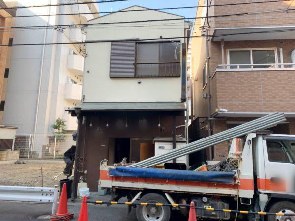 江東区毛利 解体工事を行いました。