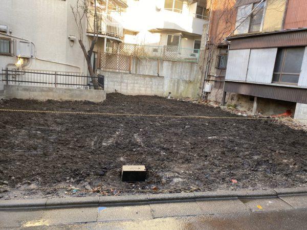 品川区東五反田 地中解体工事を行いました。