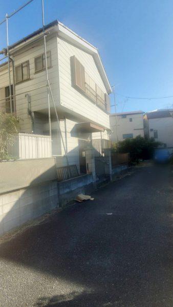 江戸川区新堀 解体工事を行いました。
